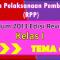Download RPP Kelas 1 Tema 6 Kurikulum 2013 Revisi 2017