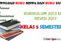Download Buku K13 Kelas 5 Revisi 2017 Semester 2