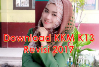 Download KKM K13 Revisi 2017