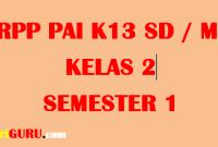 RPP PAI Kelas 2 Semester 1