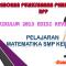 Download RPP Matematika SMP Kelas 7 Kurikulum 2013 Revisi 2017