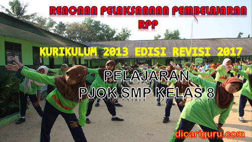 download rpp pjok smp kelas 8
