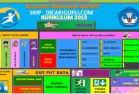 Download Aplikasi Raport k13 SMP / MTS Revisi 2107 Gratis