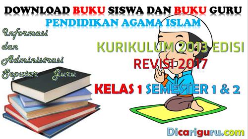 Download Buku PAI Kelas 1 Kurikulum 2013 Revisi 2017