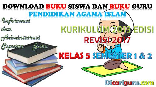 Download Buku PAI Kelas 5 Kurikulum 2013 Revisi 2017