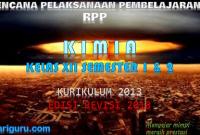 Download RPP Kimia Kelas XII Kurikulum 2013 SMA/SMK Revisi 2018