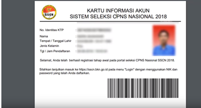 Tahapan Pendaftaran CPNS 2018 Cara Membuat Akun