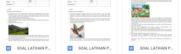 Download Soal Kelas 4 Tema 3 K13 Revisi 2018 dan Kunci Jawaban