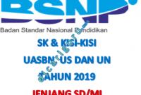 Kisi-kisi UASBN dan UN