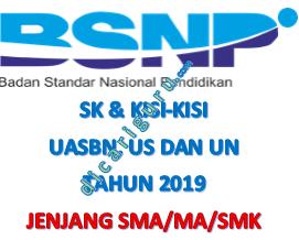 Kisi-kisi UASBN dan UN SMA / SMK