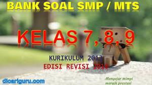 Bank Soal SMP / MTS