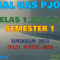 Download Soal UAS PJOK