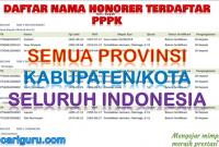 Honorer Terdaftar PPPK