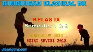 Download Materi Layanan Bimbingan Klasikal Kelas 9 K13 Dicariguru Com