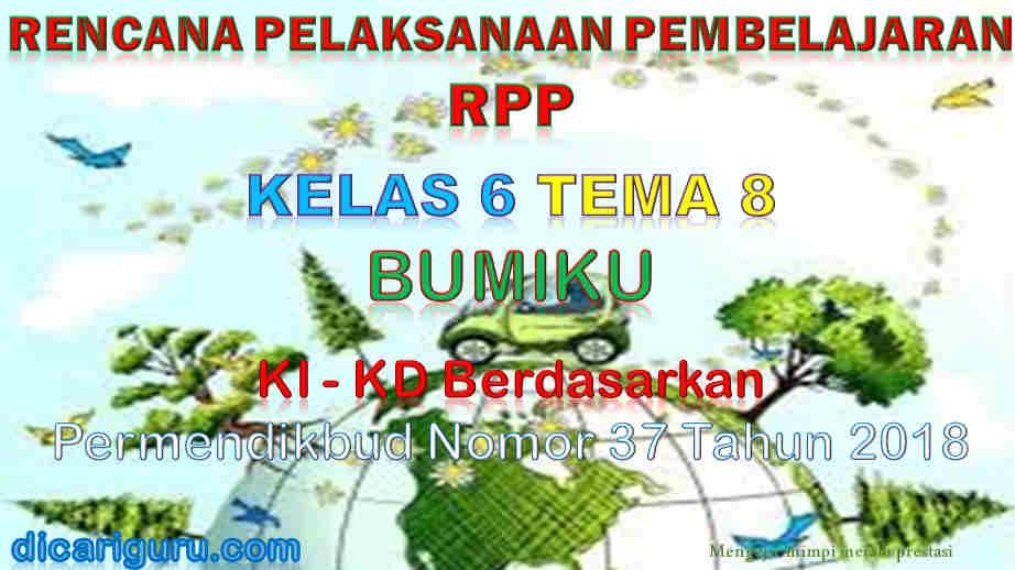 RPP Kelas 6 tema 8