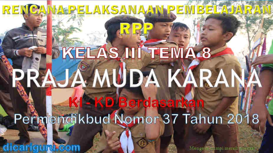 RPP Kelas 3 tema 8