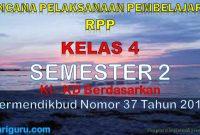 RPP Kelas 4 Semester 2