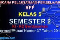 RPP Kelas 5 Semester 2