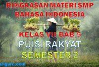 Ringkasan Materi Bahasa Indonesia SMP