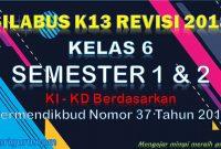 Download Silabus Kelas 6 Semester 1 dan 2