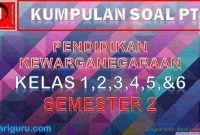 Soal PTS PPKN