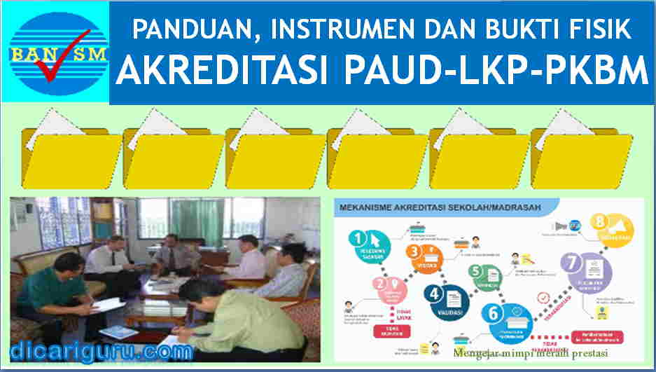 Download Instrumen Akreditasi PAUD, LKP, PKBM