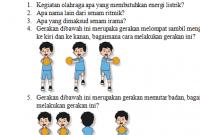 Soal UH PJOK Kelas 3 Tema 6