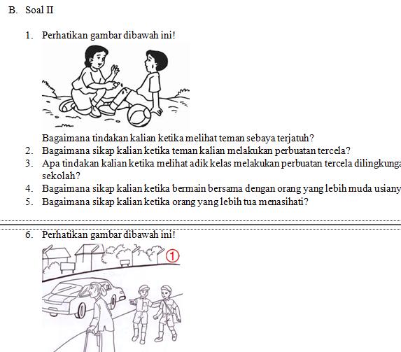 Soal Penjas Kelas 5