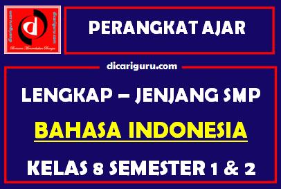 Perangkat Lengkap BAHASA INDONESIA Kelas 8