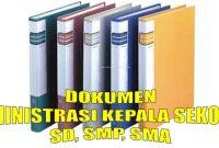 Dokumen Kepala Sekolah