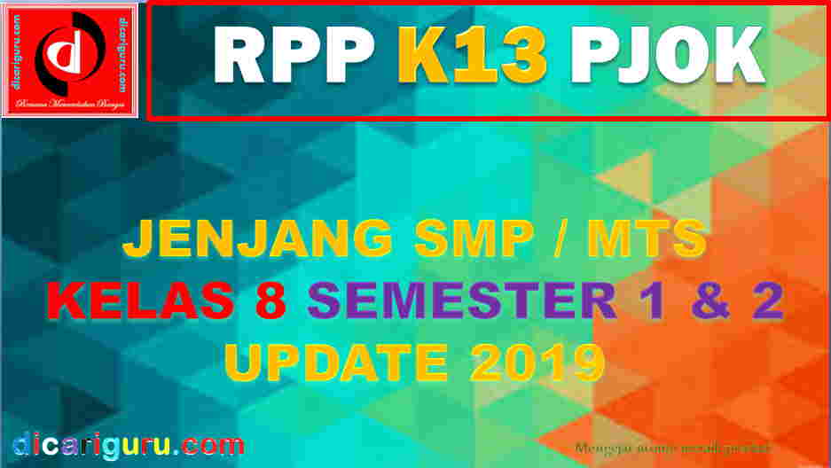 RPP K13 Kelas 8 PJOK