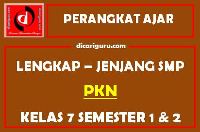 Perangkat Lengkap PPKN Kelas 7