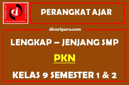 Perangkat Lengkap PPKN Kelas 9