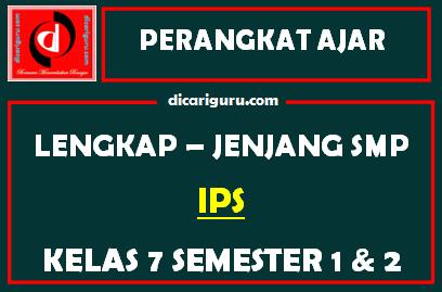 RPP dan Perangkat Lengkap IPS Kelas 7