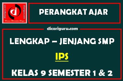 Perangkat Lengkap IPS Kelas 9