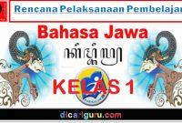 RPP Bahasa Jawa Kelas 1 SD