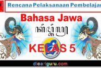 RPP K13 Bahasa Jawa Kelas 5