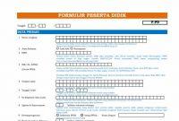Formulir PPDB Versi Dapodik