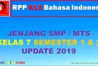 RPP K13 Bahasa Indonesia Kelas 7