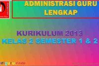 Administrasi K13 Kelas 2