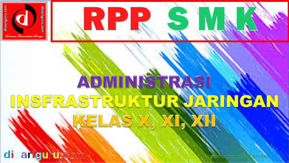 RPP K13 Administrasi Infrastruktur Jaringan