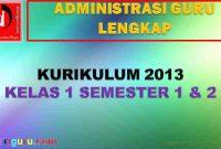 Administrasi K13 Kelas 1
