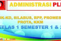 RPP PLH Kelas 1