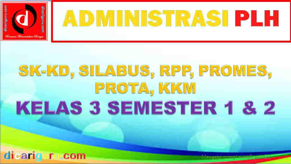 RPP PLH Kelas 3