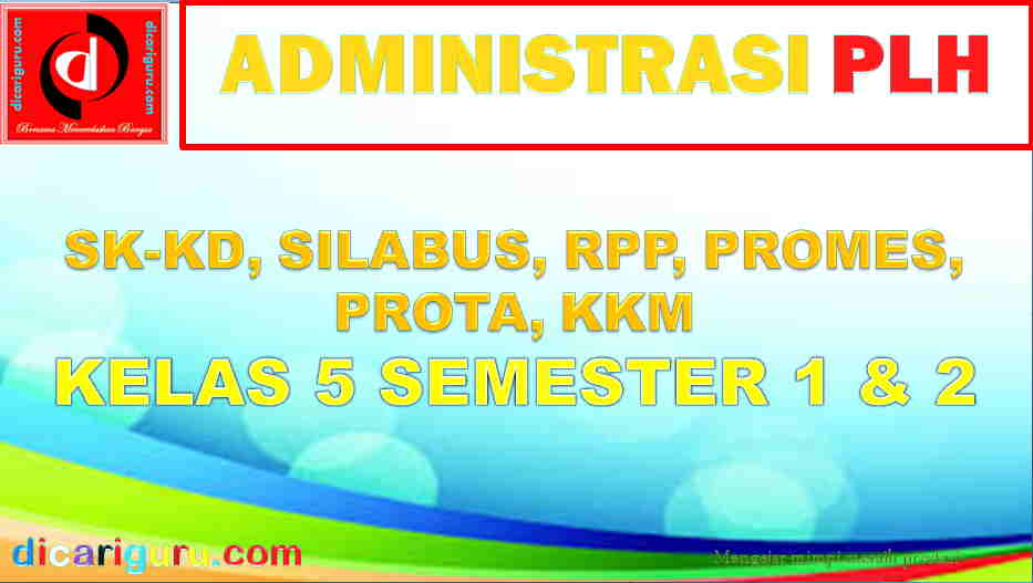 RPP PLH Kelas 5