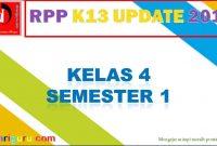 RPP Kelas 4 Semester 1