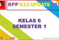 RPP Kelas 6 Semester 1