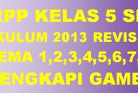 RPP K13 SD Kelas 5