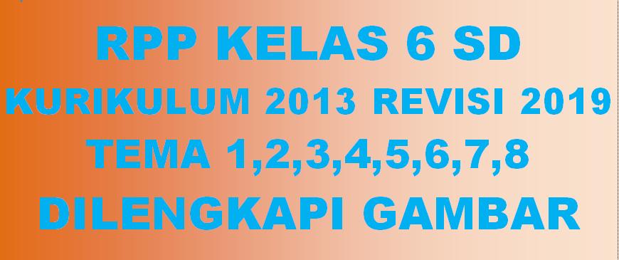 RPP K13 SD Kelas 6
