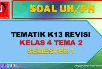 Soal UH SD Kelas 4 Tema 2